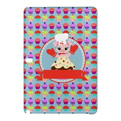 Cupcake With Cute Pig Chef Samsung Galaxy Tab Pro 12 2 Hardshell Case