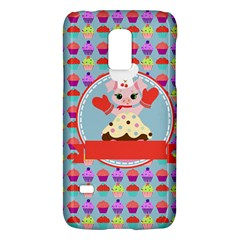 Cupcake With Cute Pig Chef Samsung Galaxy S5 Mini Hardshell Case