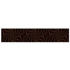 Tribal Geometric Vintage Pattern  Flano Scarf (Small)