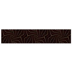 Tribal Geometric Vintage Pattern  Flano Scarf (small)