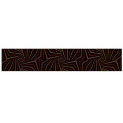 Tribal Geometric Vintage Pattern  Flano Scarf (large)
