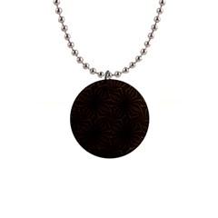 Tribal Geometric Vintage Pattern  Button Necklace