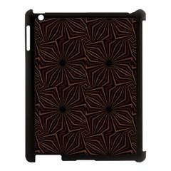 Tribal Geometric Vintage Pattern  Apple Ipad 3/4 Case (black)
