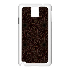 Tribal Geometric Vintage Pattern  Samsung Galaxy Note 3 N9005 Case (white)