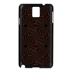 Tribal Geometric Vintage Pattern  Samsung Galaxy Note 3 N9005 Case (Black)