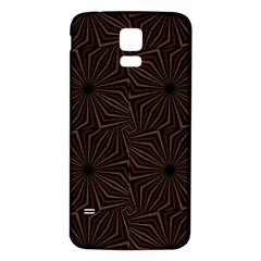 Tribal Geometric Vintage Pattern  Samsung Galaxy S5 Back Case (White)