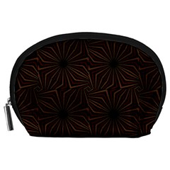 Tribal Geometric Vintage Pattern  Accessory Pouch (Large)