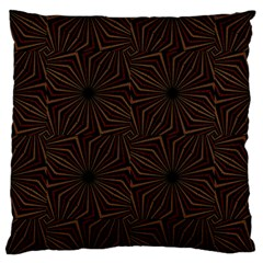 Tribal Geometric Vintage Pattern  Large Flano Cushion Case (two Sides)