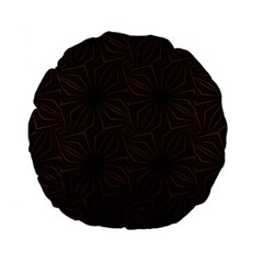 Tribal Geometric Vintage Pattern  15  Premium Flano Round Cushion