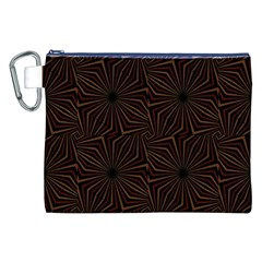 Tribal Geometric Vintage Pattern  Canvas Cosmetic Bag (XXL)