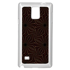 Tribal Geometric Vintage Pattern  Samsung Galaxy Note 4 Case (white)