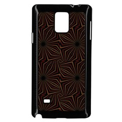 Tribal Geometric Vintage Pattern  Samsung Galaxy Note 4 Case (Black)