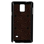 Tribal Geometric Vintage Pattern  Samsung Galaxy Note 4 Case (Black) Front