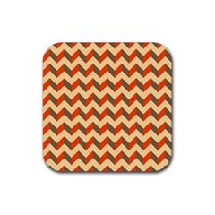 Modern Retro Chevron Patchwork Pattern  Drink Coasters 4 Pack (square)