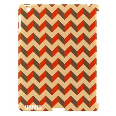 Modern Retro Chevron Patchwork Pattern  Apple Ipad 3/4 Hardshell Case (compatible With Smart Cover)