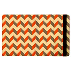 Modern Retro Chevron Patchwork Pattern  Apple Ipad 3/4 Flip Case
