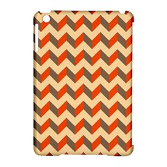 Modern Retro Chevron Patchwork Pattern  Apple Ipad Mini Hardshell Case (compatible With Smart Cover)