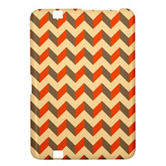 Modern Retro Chevron Patchwork Pattern  Kindle Fire Hd 8 9  Hardshell Case