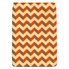 Modern Retro Chevron Patchwork Pattern  Removable Flap Cover (large)