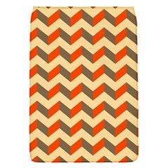 Modern Retro Chevron Patchwork Pattern  Removable Flap Cover (small)