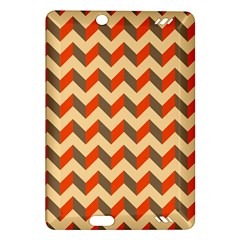 Modern Retro Chevron Patchwork Pattern  Kindle Fire HD (2013) Hardshell Case