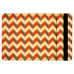 Modern Retro Chevron Patchwork Pattern  Apple Ipad Air 2 Flip Case