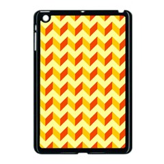 Modern Retro Chevron Patchwork Pattern  Apple Ipad Mini Case (black)