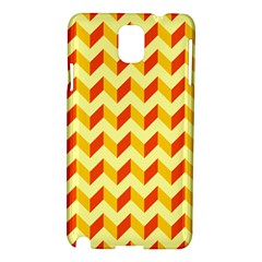 Modern Retro Chevron Patchwork Pattern  Samsung Galaxy Note 3 N9005 Hardshell Case