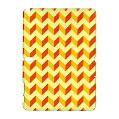 Modern Retro Chevron Patchwork Pattern  Samsung Galaxy Note 10.1 (P600) Hardshell Case