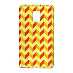 Modern Retro Chevron Patchwork Pattern  Samsung Galaxy Note Edge Hardshell Case
