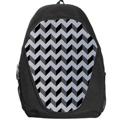 Modern Retro Chevron Patchwork Pattern  Backpack Bag