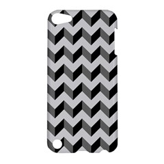 Modern Retro Chevron Patchwork Pattern  Apple Ipod Touch 5 Hardshell Case