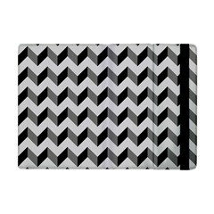 Modern Retro Chevron Patchwork Pattern  Apple Ipad Mini Flip Case