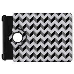 Modern Retro Chevron Patchwork Pattern  Kindle Fire HD Flip 360 Case