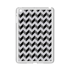 Modern Retro Chevron Patchwork Pattern  Apple Ipad Mini 2 Case (white)