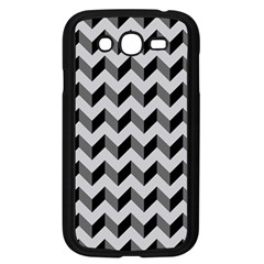 Modern Retro Chevron Patchwork Pattern  Samsung Galaxy Grand Duos I9082 Case (black)