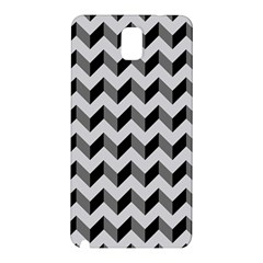 Modern Retro Chevron Patchwork Pattern  Samsung Galaxy Note 3 N9005 Hardshell Back Case