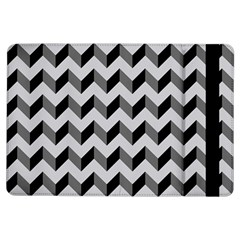 Modern Retro Chevron Patchwork Pattern  Apple iPad Air Flip Case