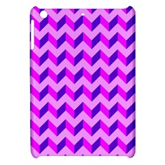 Modern Retro Chevron Patchwork Pattern Apple Ipad Mini Hardshell Case