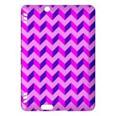 Modern Retro Chevron Patchwork Pattern Kindle Fire Hdx Hardshell Case