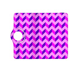 Modern Retro Chevron Patchwork Pattern Kindle Fire HDX 8.9  Flip 360 Case