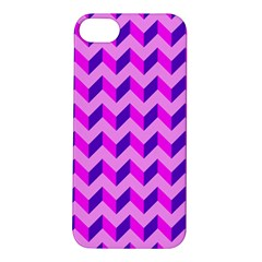 Modern Retro Chevron Patchwork Pattern Apple Iphone 5s Hardshell Case