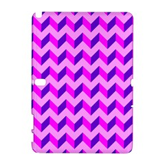 Modern Retro Chevron Patchwork Pattern Samsung Galaxy Note 10 1 (p600) Hardshell Case