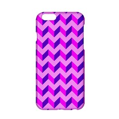 Modern Retro Chevron Patchwork Pattern Apple iPhone 6 Hardshell Case