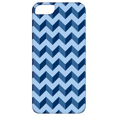 Tiffany Blue Modern Retro Chevron Patchwork Pattern Apple Iphone 5 Classic Hardshell Case