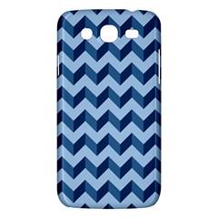 Tiffany Blue Modern Retro Chevron Patchwork Pattern Samsung Galaxy Mega 5 8 I9152 Hardshell Case