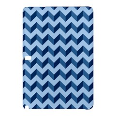 Tiffany Blue Modern Retro Chevron Patchwork Pattern Samsung Galaxy Tab Pro 12 2 Hardshell Case
