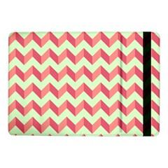 Mint Pink Modern Retro Chevron Patchwork Pattern Samsung Galaxy Tab Pro 10 1  Flip Case