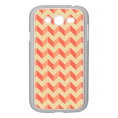 Modern Retro Chevron Patchwork Pattern Samsung Galaxy Grand Duos I9082 Case (white)