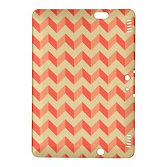 Modern Retro Chevron Patchwork Pattern Kindle Fire HDX 8.9  Hardshell Case
